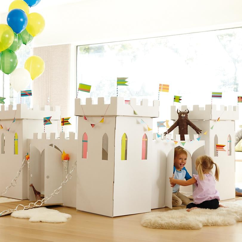 For 3-Year-Olds: Box Creations Medieval Castle
