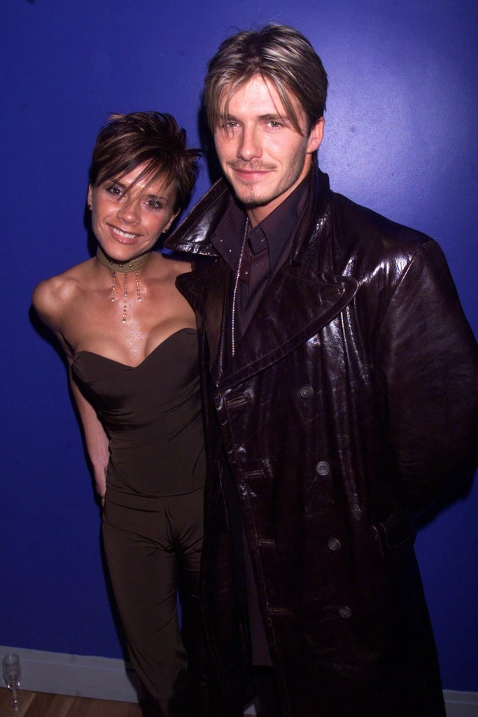 They posed together at a London premiere in February 2000.