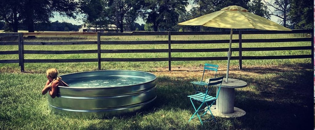 Stock Tank Pools Are the Coolest Backyard Trend of Summer