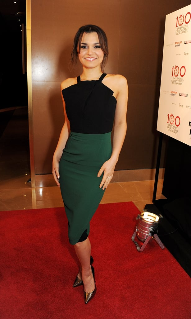 Samantha Barks was nominated for best young British performer.