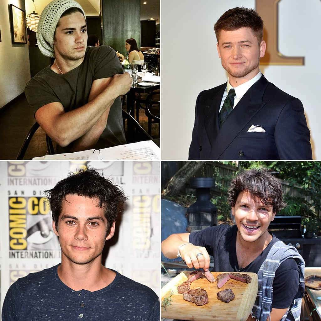 Hot Male Celebrities in 2015