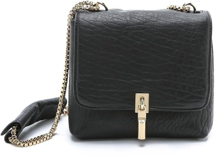 Elizabeth and James Cynnie Mini Double Chain Cross Body Bag ($345)