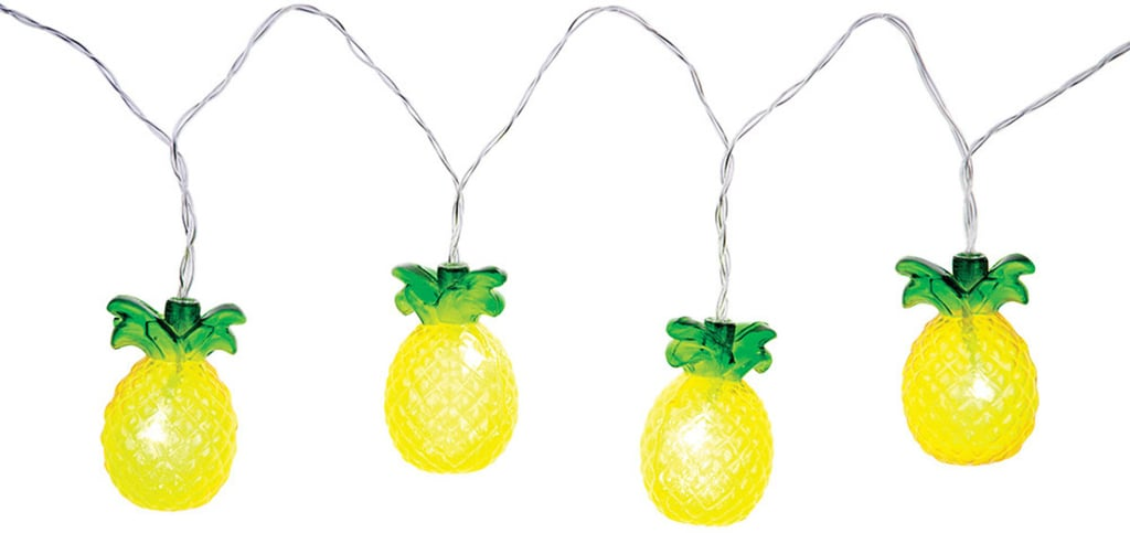 Pineapple String Lights ($25)
