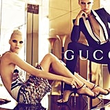 Menswear-inspired suits and glitzy dresses rule at Gucci. Source: Fashion Gone Rogue