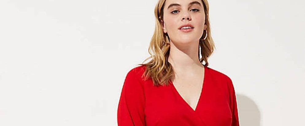 Flattering Plus-Size Dress
