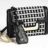 The checkered print on this Diane von Furstenberg checkered wool crossbody bag ($295) gives a nod to the past, but the chain handle offers a modern spin.