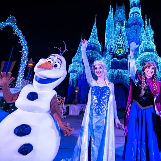 A Frozen Holiday Wish Disney Castle Show Livestream 2018