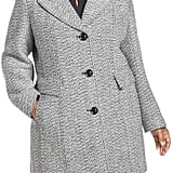 Gallery Tweed Coat Plus-Size