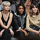 Photos of all the Celebrities in the Front Row at London Fashion Week 2010