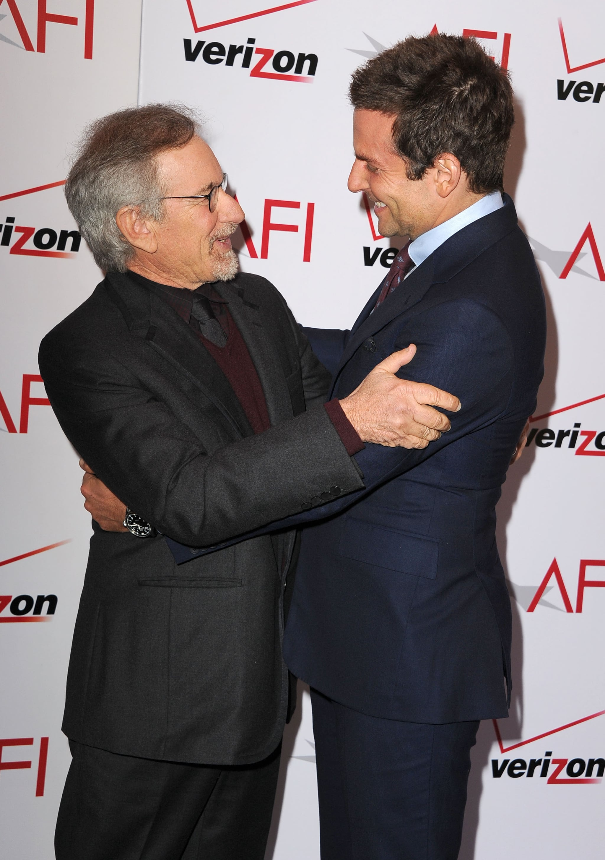 And Before That, Bradley Showed His Love For Steven Spielberg at the AFI Luncheon