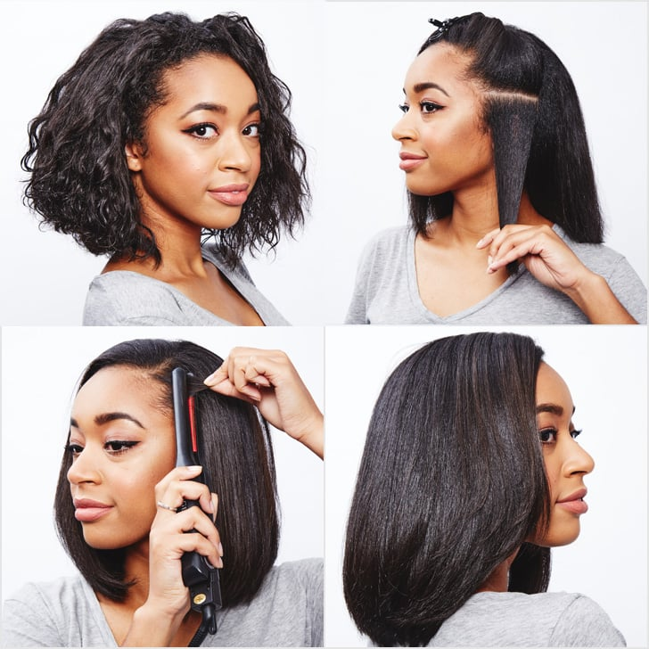 How to Straighten Naturally Curly Hair | POPSUGAR Beauty UK