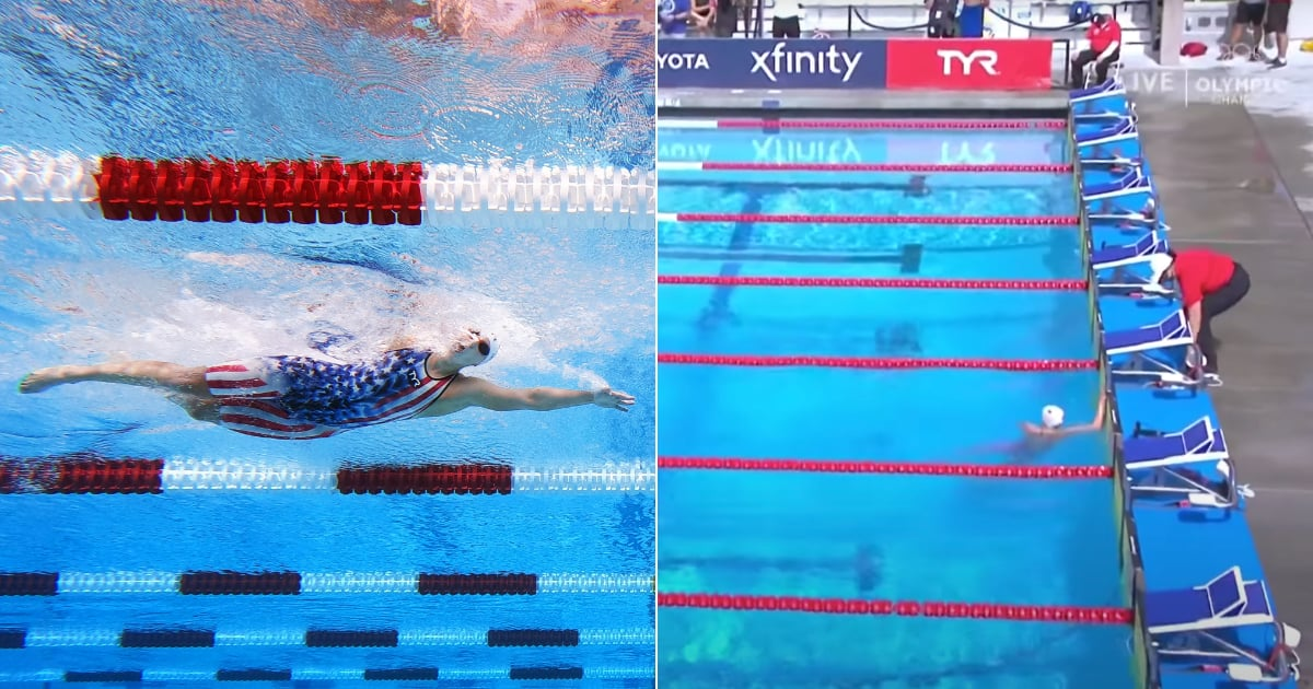 See Katie Ledecky Finish a Whole 26 Seconds Ahead of the Competition in 1,500-Meter Freestyle - POPSUGAR