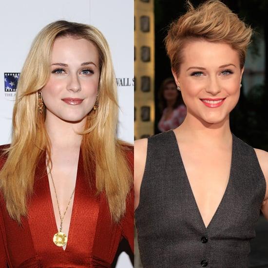 Evan Rachel Wood Gets Short Hair