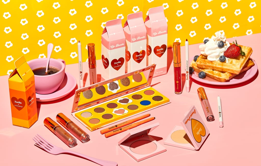 Have a brunch date to attend? ColourPop's got you covered. In collaboration with YouTube beauty blogger Zoë Sugg, ColourPop is bringing brunch to a whole new level with a brand-new collection — and yes, it involves mimosas. Inspired by everyone's favorite midmorning treats — from champagne and french toast to pancakes and skinny lattes — the brand just made brunch even more Insta-worthy.  The Zoella x ColourPop collection will feature a range of eye shadows, pressed powders, liners, and lipsticks inspired by your brunch favorites. Eye shadow shades include Sundae Fundae, Maple Syrup, Cinnamon Sugar, Americano, Pancakes Please, and more. Available in a variety of neutrals and a few pops of color for an extra-glam brunch, the Zoella x ColourPop collection will be available exclusively on ColourPop.com beginning on Feb. 27, so plan your next brunch date now.      Related:                                                                                                           ColourPop's New Zodiac Pigments Are So Pretty (and Virgos, They Don't Break the Bank)