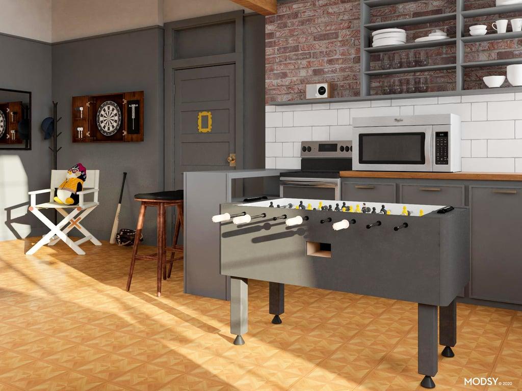 Joey S Bachelor Pad Home Decor Inspired By Friends Tv Show Popsugar Home Australia Photo 3