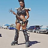 Chunky boots and intimidating weapons will get you far when planning a Mad Max costume.