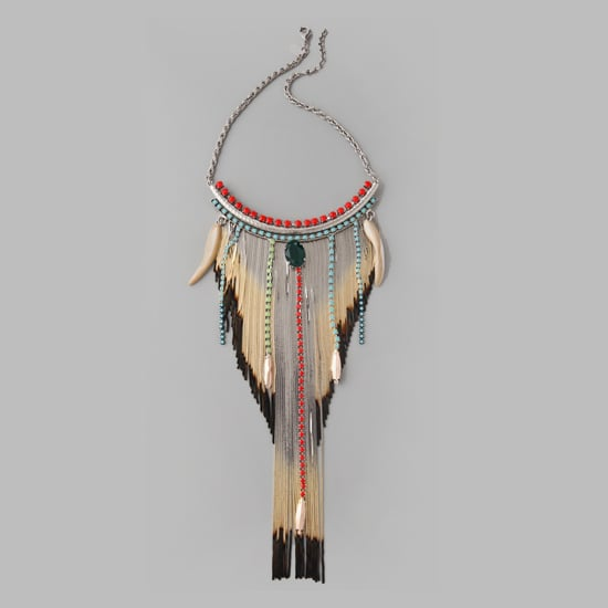 Iosselliani Shaded Fringe Shell Necklace, $614