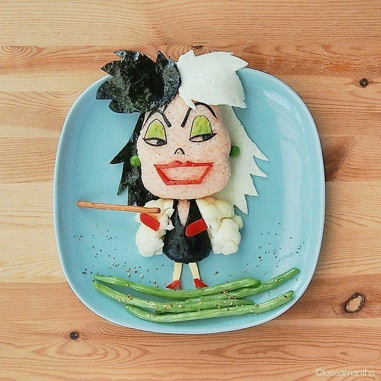 Disney Character Food Art