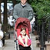 Matthew Broderick sported glasses as he walked with Tabitha in NYC.