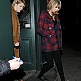Taylor Swift and Tom Odell in London | Pictures