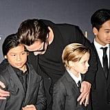 Dad Brad Pitt
