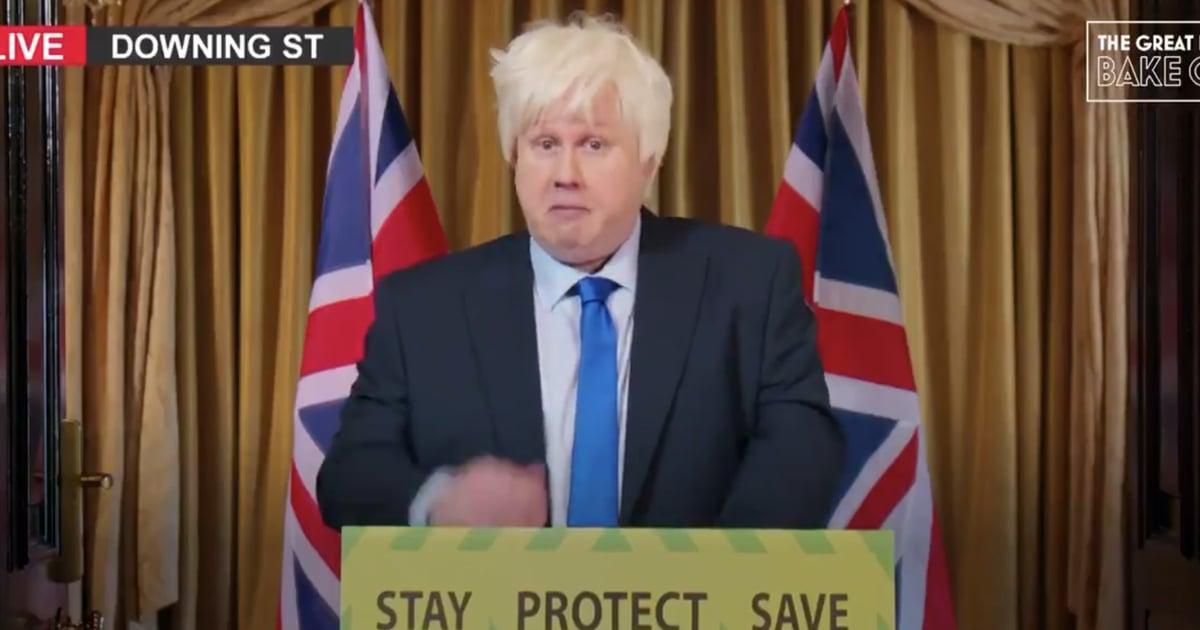 Matt Lucas Kicks Off His Bake Off Presenting Job With a Hilarious Boris Johnson Impersonation