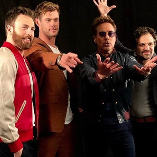 Avengers: Endgame Press Tour Pictures