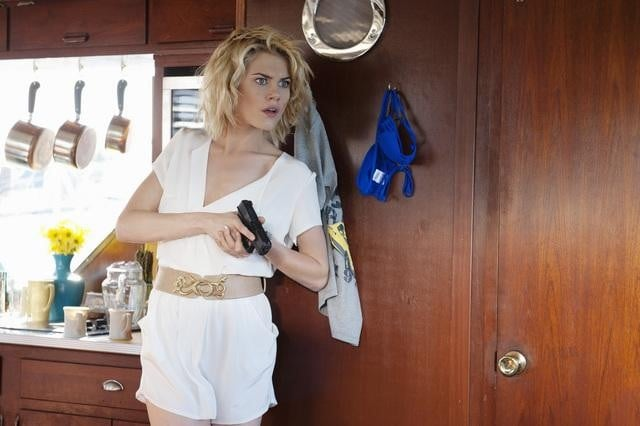 Rachael Taylor in ABC's Charlie Angels.