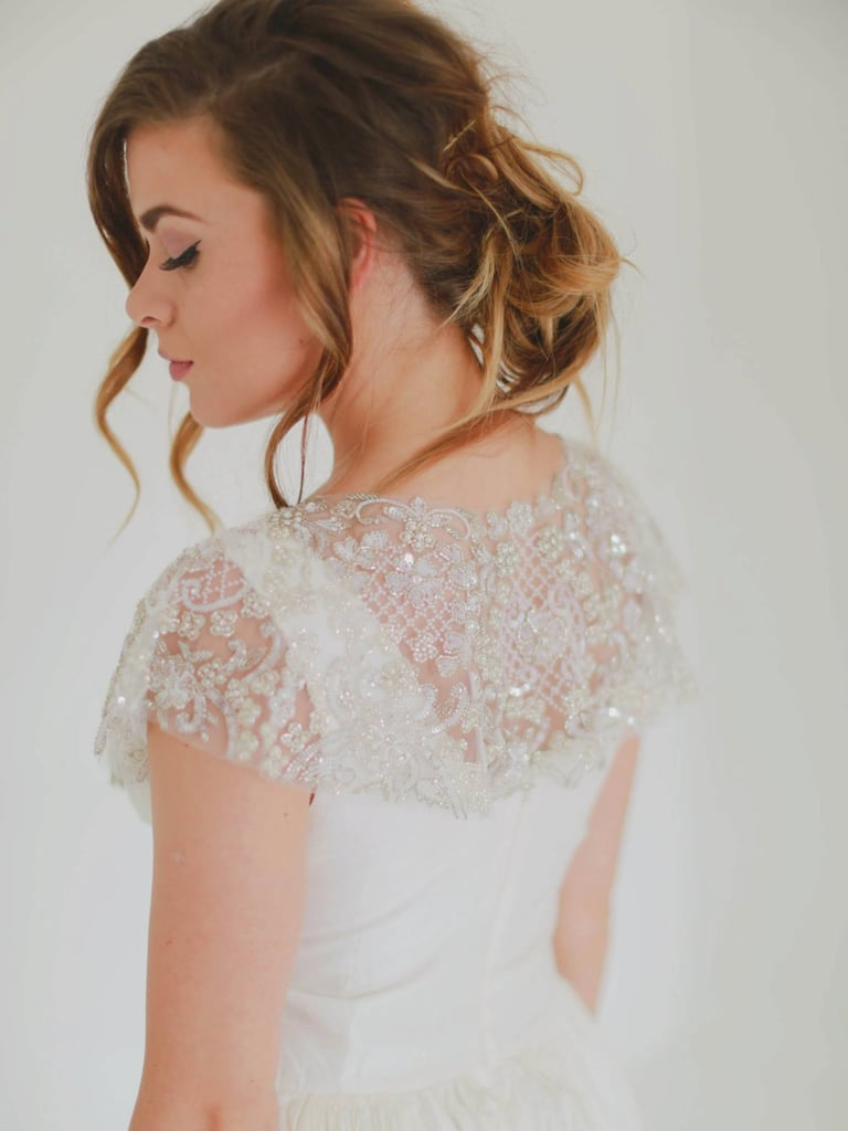 Gibson Bespoke Celestial Couture Hand Beaded Capelet (£463)