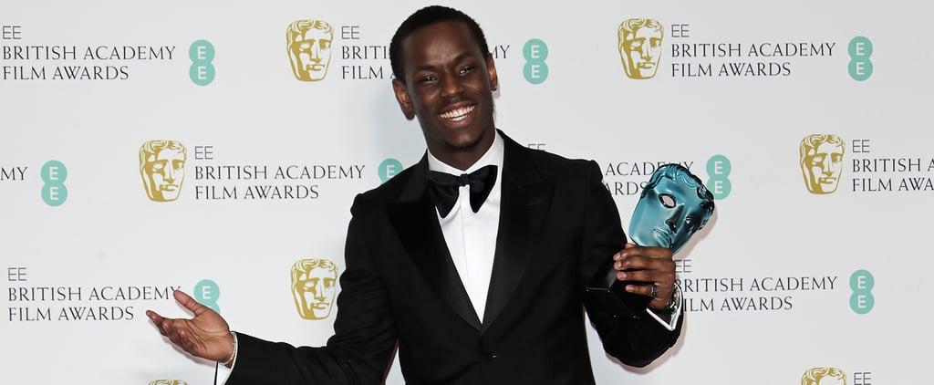 BAFTAs 2020: Micheal Ward Wins EE Rising Star Award