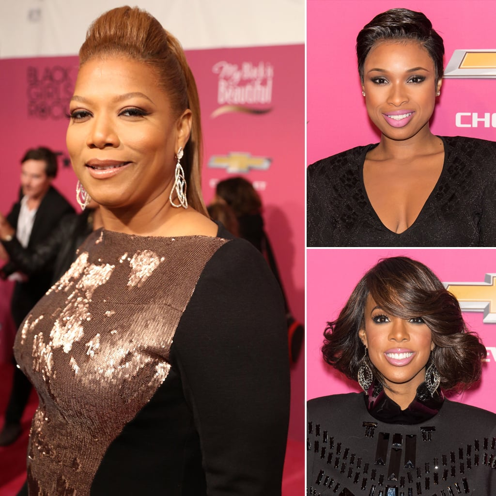 Jennifer Hudson & Kelly Rowland Beauty at Black Girls Rock