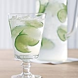 A light and refreshing cucumber lime spritzer would be a welcome addition to any outdoor soiree.