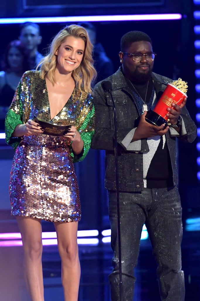 Allison Williams and LilRel Howery