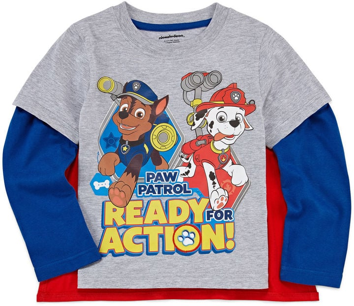 Long Sleeve Paw Patrol T-Shirt