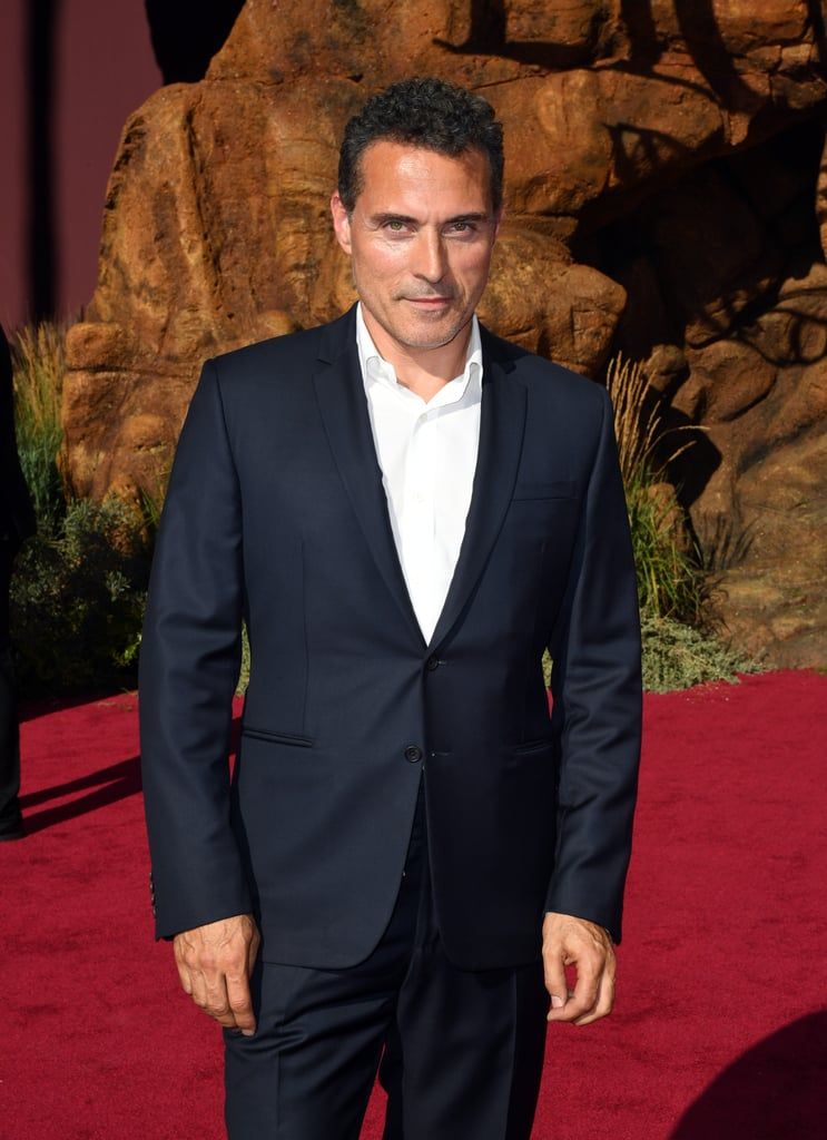 Pictured: Rufus Sewell at The Lion King premiere.