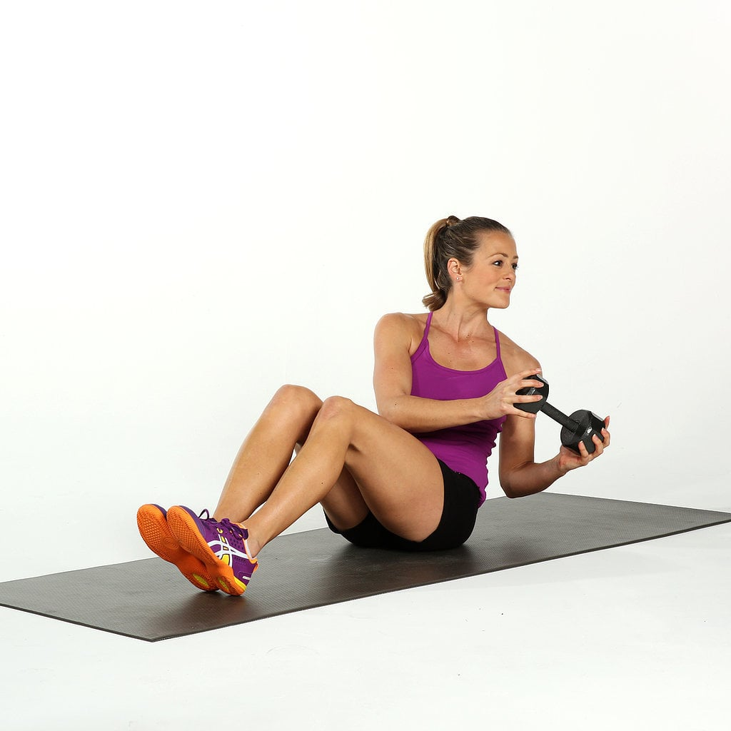 Circuit 3, Exercise 2: Seated Russian Twist
