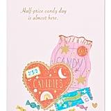 Half-Price Candy Card
