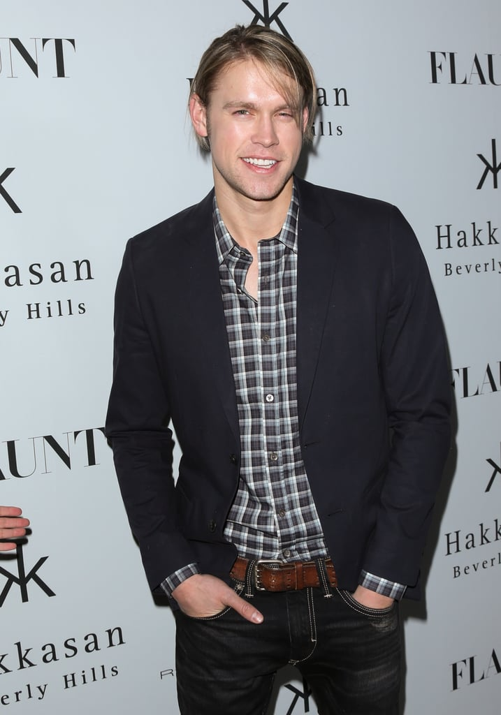 Chord Overstreet attended the LA issue launch party.