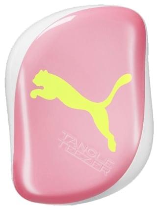 Tangle Teezer x Puma Compact Styler Detangling Hairbrush Neon Yellow