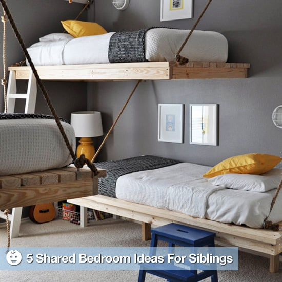 Design Tips For Siblings Sharing Bedrooms | POPSUGAR Moms
