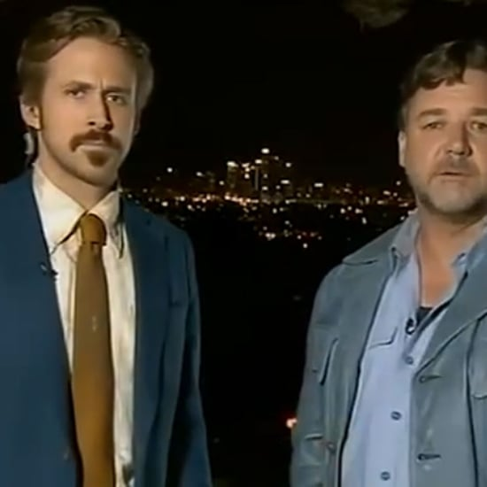 Ryan Gosling Crashed Russell Crowe's AACTA Awards Video