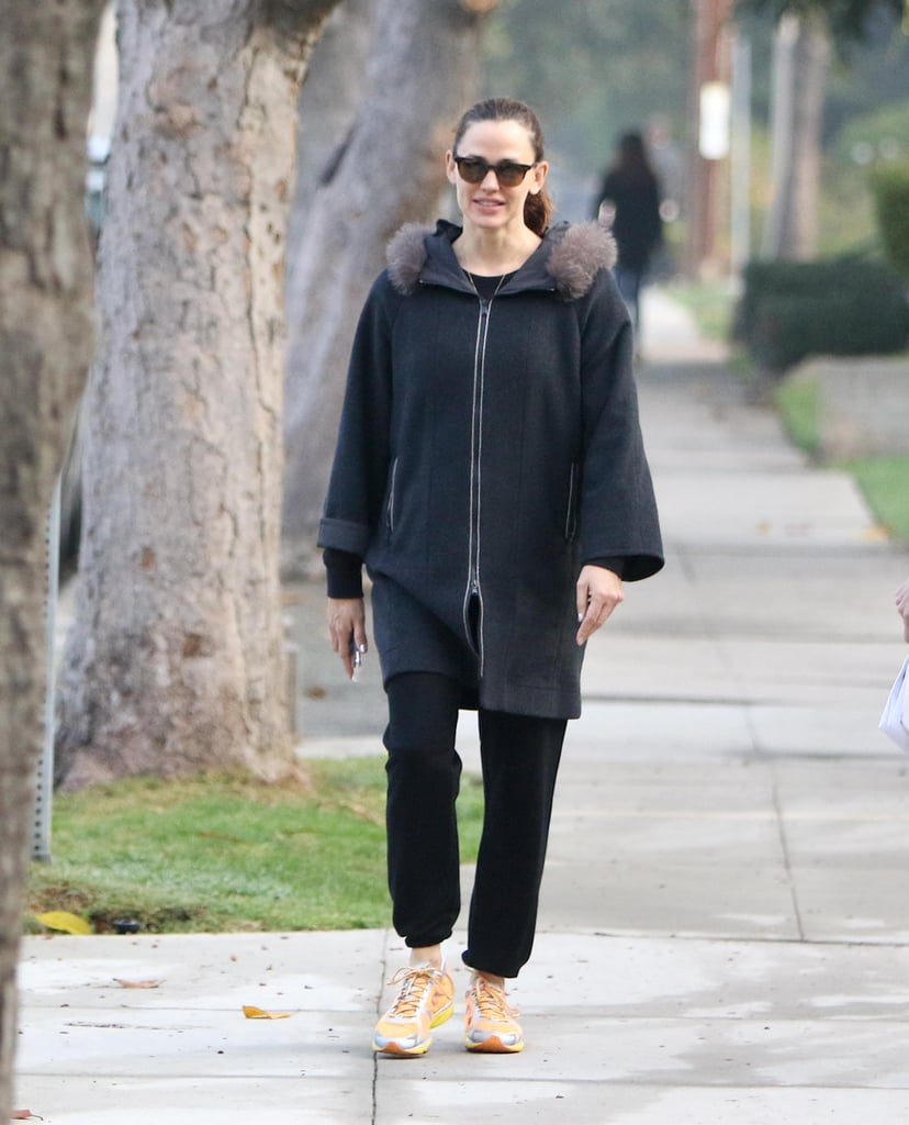 Jennifer Garner Laughing With a Friend in LA