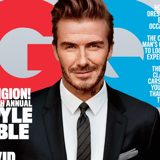 David Beckham in GQ Magazine April 2016