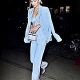 Gigi Hadid Just Wore the Sexy, Modern Version of Kate Middleton's Go-To Suit