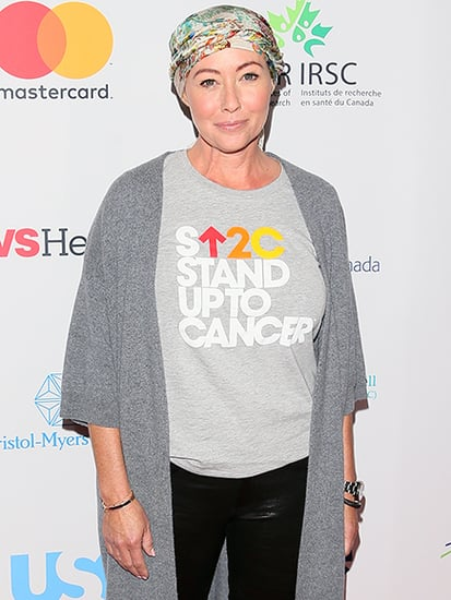 Shannen Doherty Stands Up to Cancer on the Red Carpet