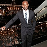 Tyson Beckford in a suit.
