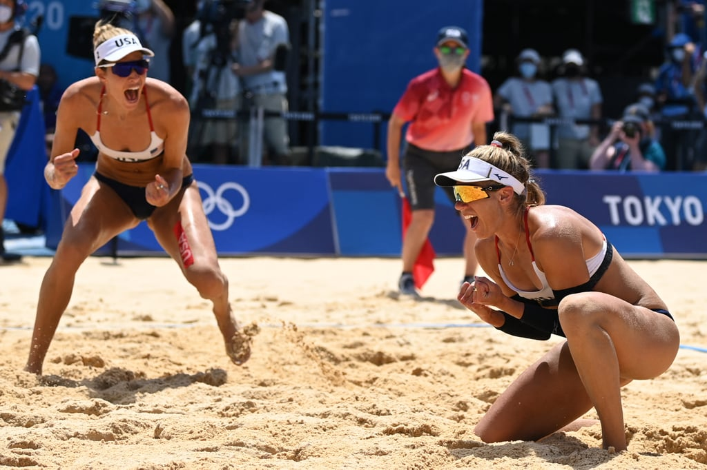April Ross and Alix Klineman Win Gold at 2021 Olympics