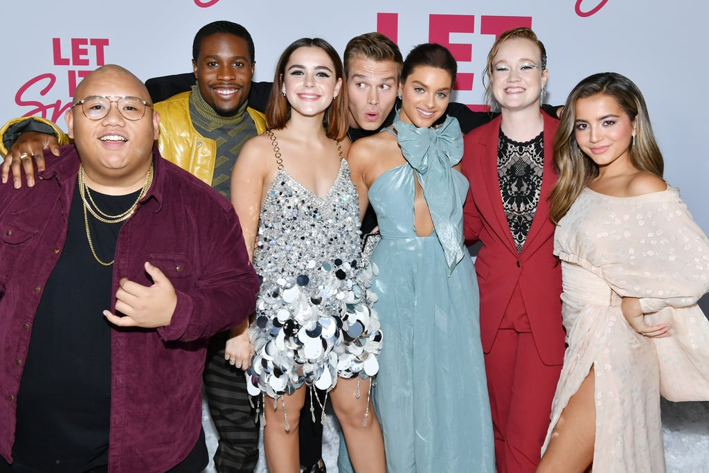 The Cast of Let It Snow at the Premiere