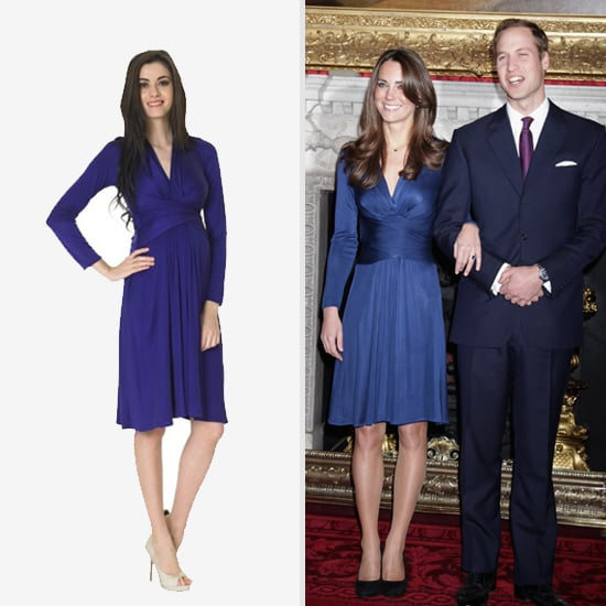 Kate Middleton's Iconic Engagement Photo Dress Now Available For Moms-to-Be