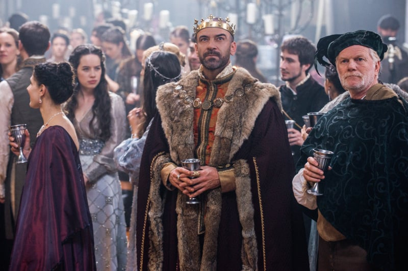 Alan Van Sprang as King Henry in Reign.